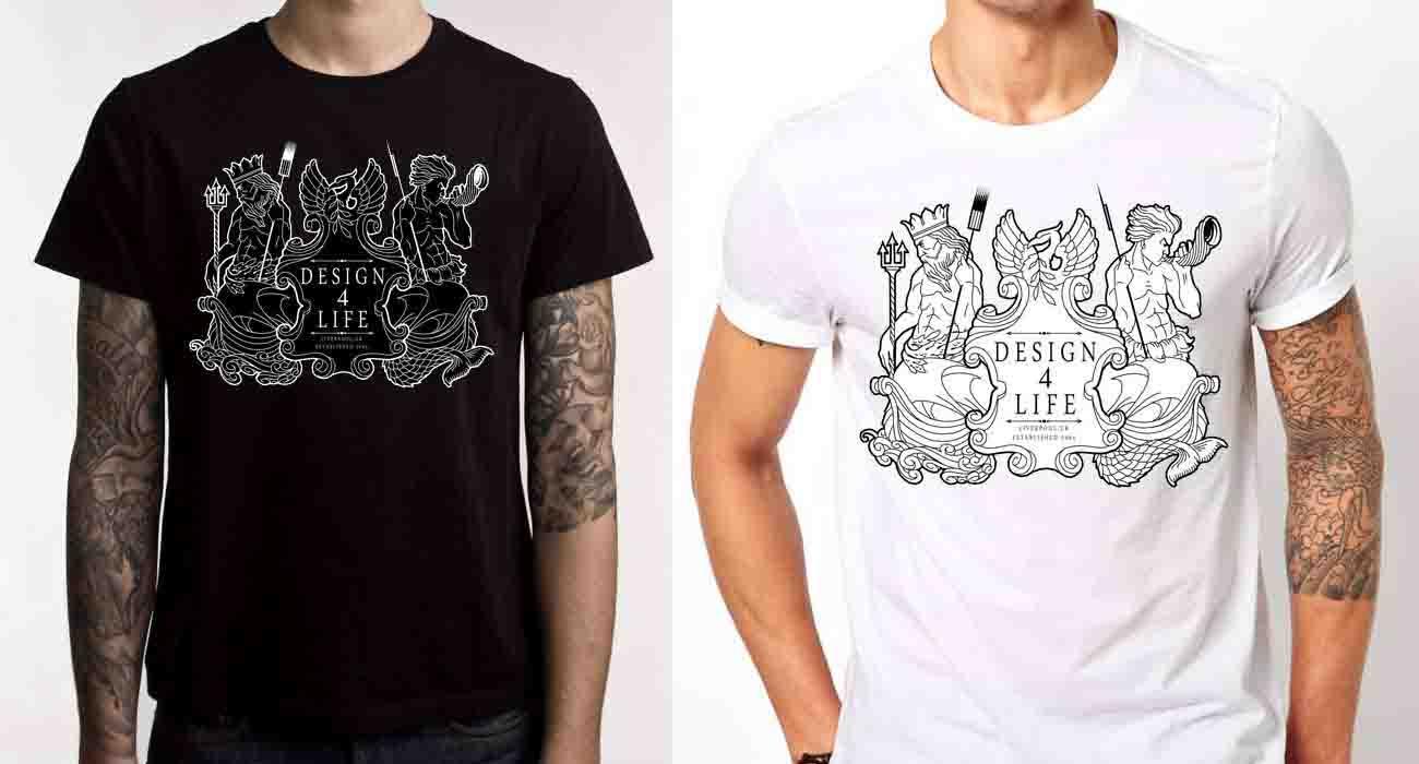 professional tattoo piercing studio liverpool pre order d4l logo shirt professional tattoo. Black Bedroom Furniture Sets. Home Design Ideas