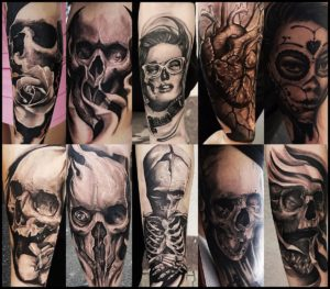 professional tattoo piercing studio liverpool skulls roses and creepy stuff by schrail bimbi. Black Bedroom Furniture Sets. Home Design Ideas